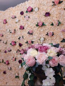 Photocorner, panou floral, cabina cu nebunii, nunta, botez